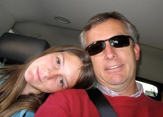 Hannah and Me in San Francisco, 2007