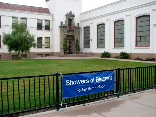Showers of Blessing sign