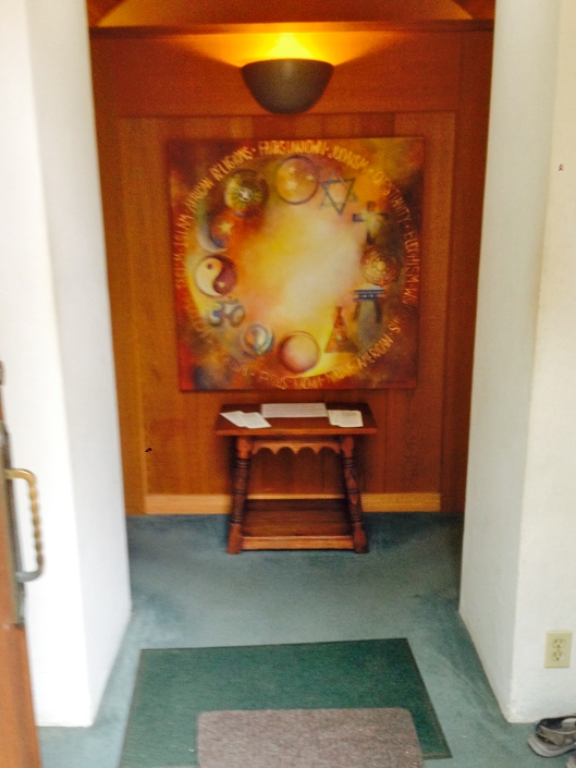Meditation Chapel at La Casa de Maria in Santa Barbara, California