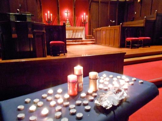 Prayer Vigil for Pastor Frank Schaefer at First UMC, Santa Barbara, CA